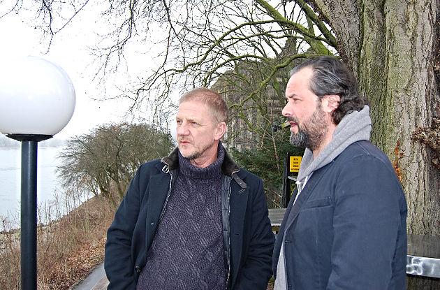 Sönke Wortmann und Björn Merse