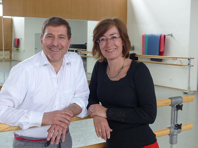 Martin Schläpfer und Susan Tuchel