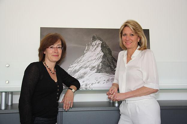 Susan Tuchel und Anja Steinbeck