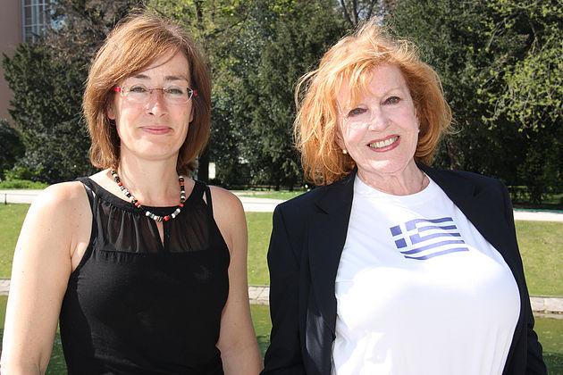 Susanne Tuchel und Marianne Rogee