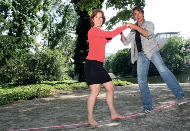 Susan Tuchel und Pascal Breuer
