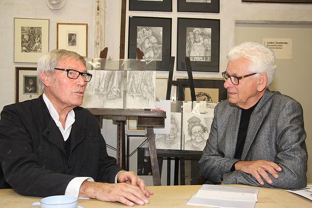 Bert Gerresheim und Siegmar Rothstein