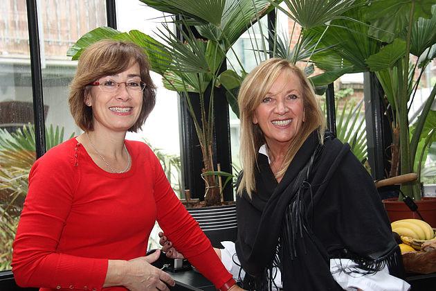 Susan Tuchel und Uta Raasch