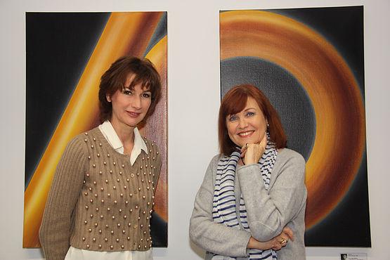 Dorothee Achenbach und Susanne Altweger