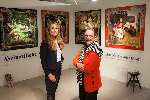 Andrea Kleiner und Anne-Marie von Sarosdy