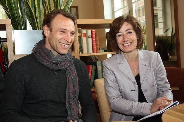 Bernhard Bettelmann und Susan Tuchel