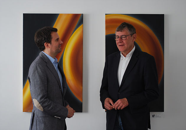Christian Theisen und Jürgen Büssow