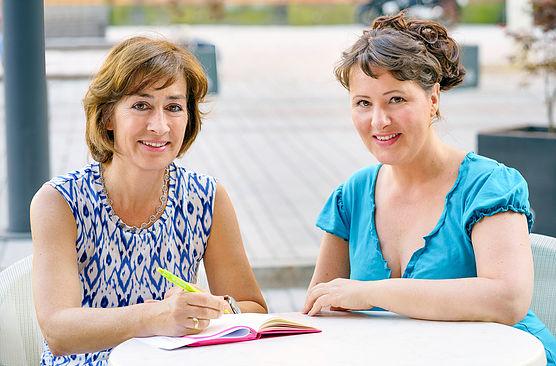 Susan Tuchel und Nina Vorbrodt