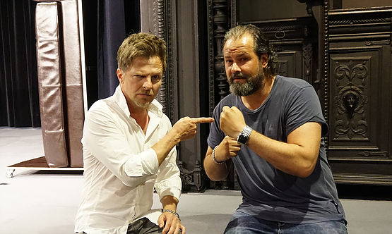 Heiko Seidel und Björn Merse
