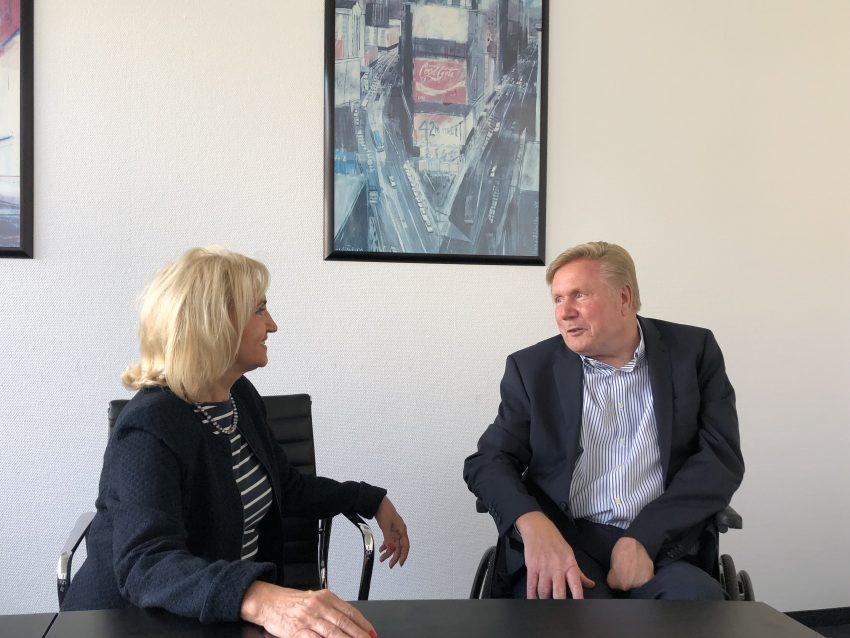 Evelin Theisen und Rüdiger Goll