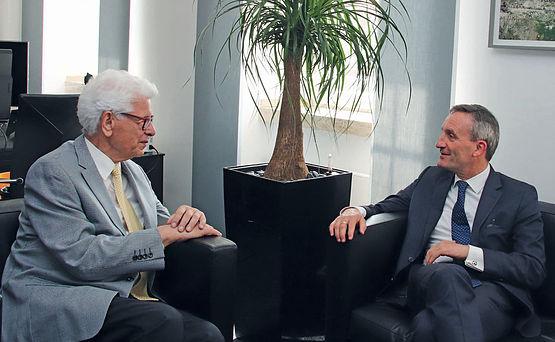 Siegmar Rothstein und Thomas Geisel