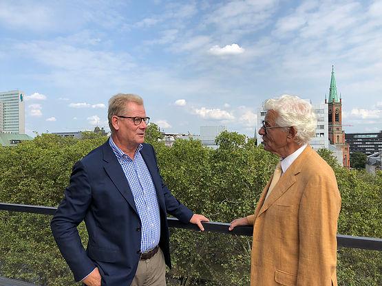 Andreas Schmitz und Siegmar Rothstein