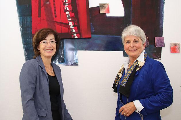 Susan Tuchel und Birgitta Radermacher
