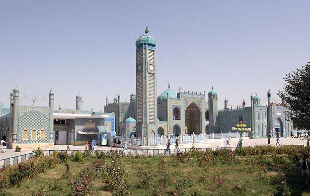 Blaue Mosche in Mazar-e-Sharif