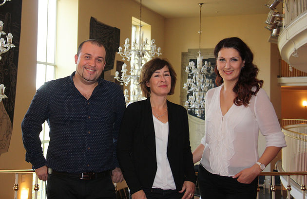 Bogdan Talos und Susan Tuchel und Adela Zaharia