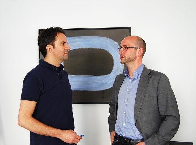 Christian Theisen und Lars Denner