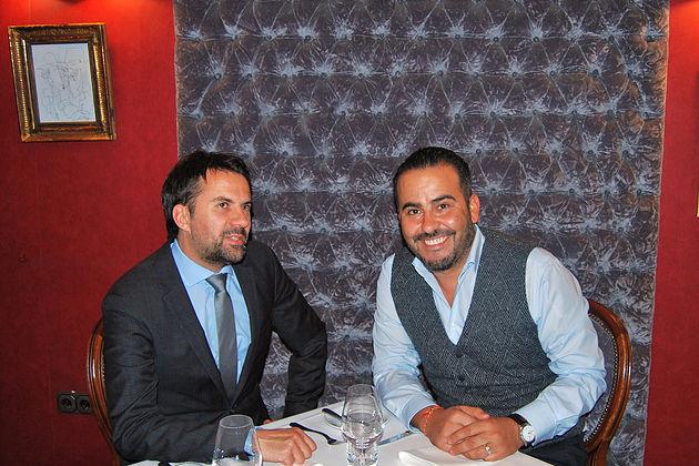 Christian Theisen und Mohammadi Akhabach