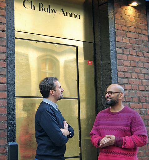 Christian Theisen und Walid El Sheikh