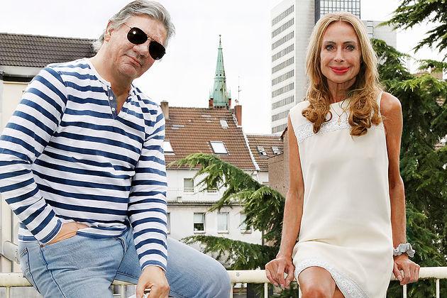 Claude-Oliver Rudolph und Andrea Kleiner
