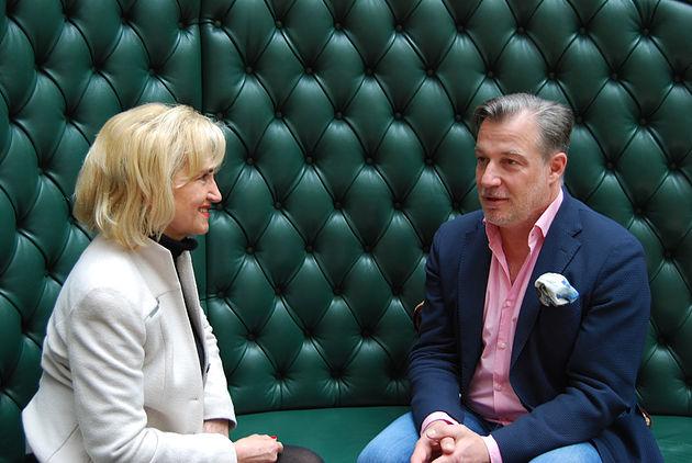 Evelin Theisen und Marc Marshall
