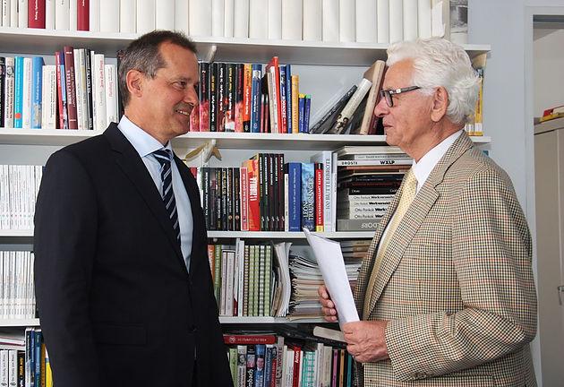 Felix Droste und Siegmar Rothstein