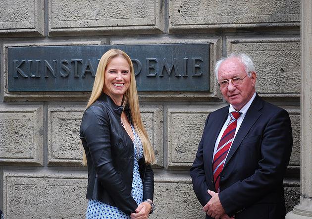 Friderike Bagel und Norbert Hüsson