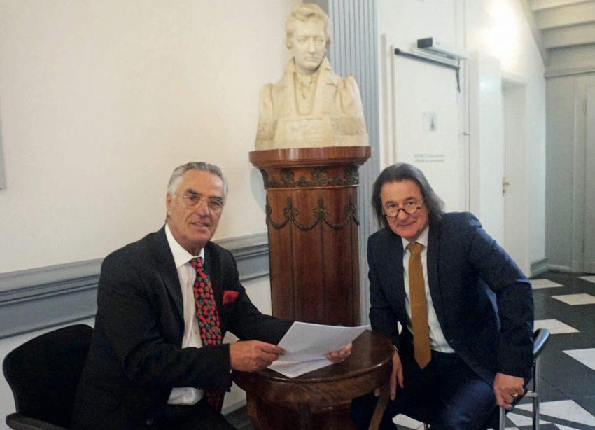 Paul Breuer und Heinrich Heil