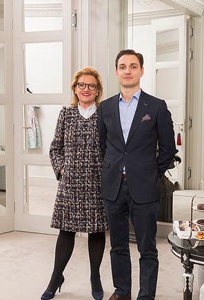 Helga Okan und Philippo Okan