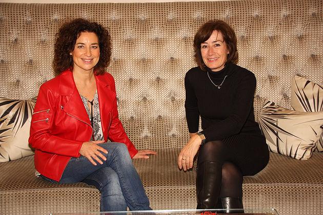 Isabel Varell und Susan Tuchel