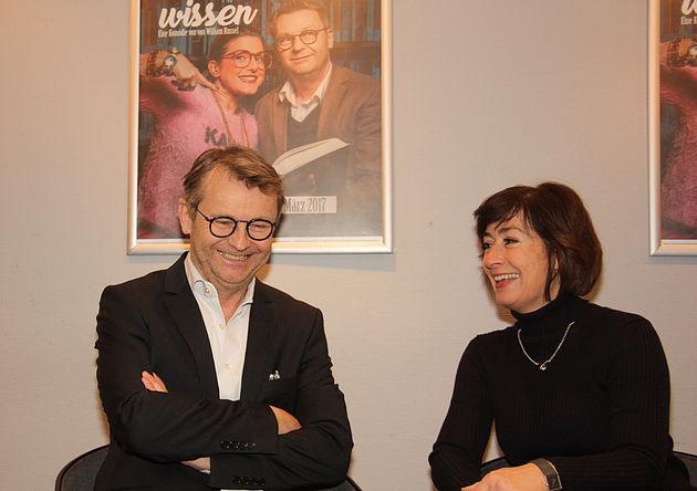 Rene Heinersdorff und Susan Tuchel