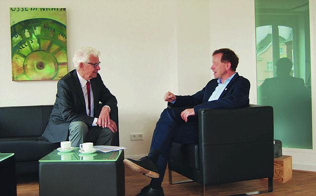 Siegmar Rothstein und Burkhard Hintzsche
