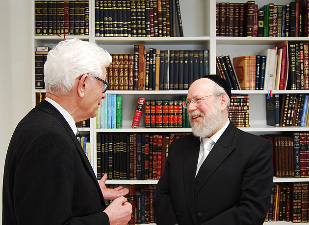 Siegmar Rothstein und Raphael Evers