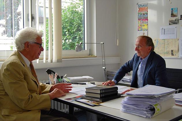 Siegmar Rothstein und Wilfried Schulz