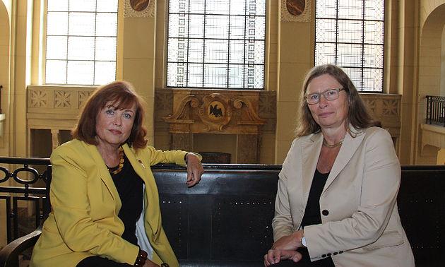 Susanne Altweger und Annemarie Lütkes