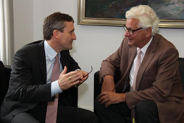 Thomas Geisel und Siegmar Rothstein