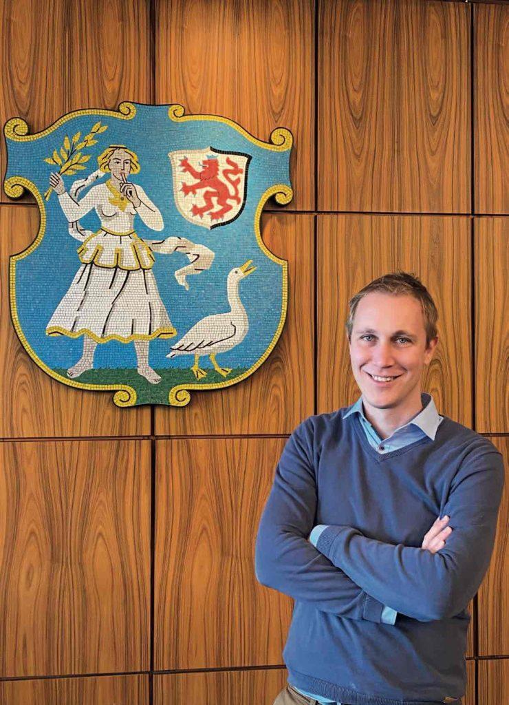 Bürgermeister Daniel Zimmermann