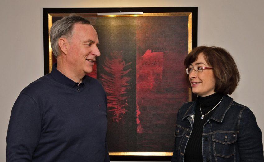 Hans-Werner Neske und Susan Tuchel