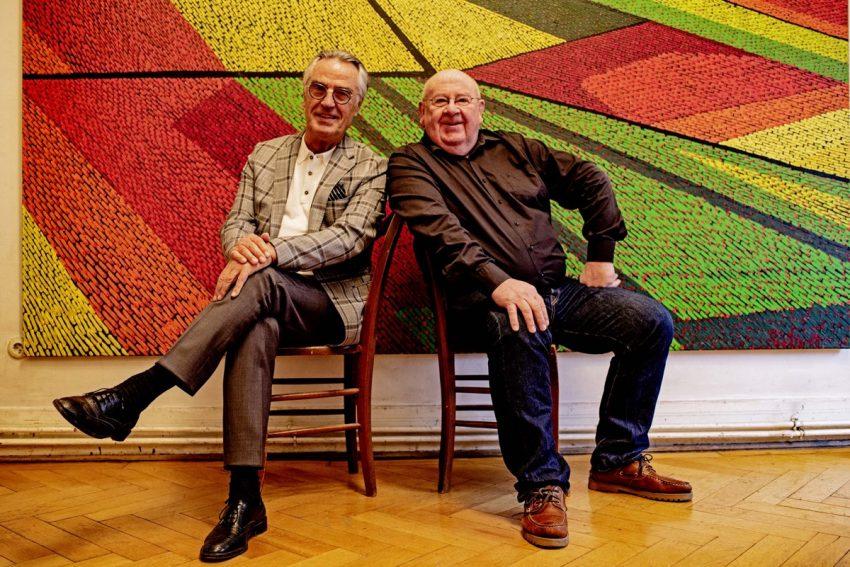 Paul Breuer und Fernand Roda