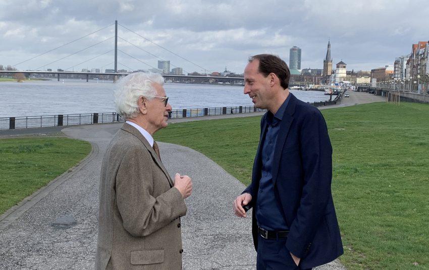 Siegmar Rothstein und Stefan Engstfeld