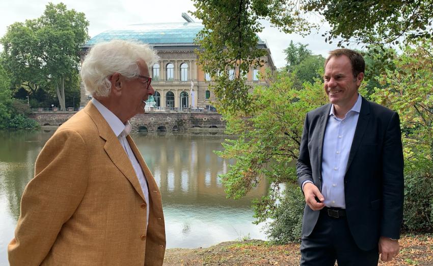 Siegmar Rothstein und Stephan Keller